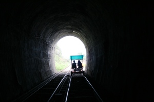 600m tunnel